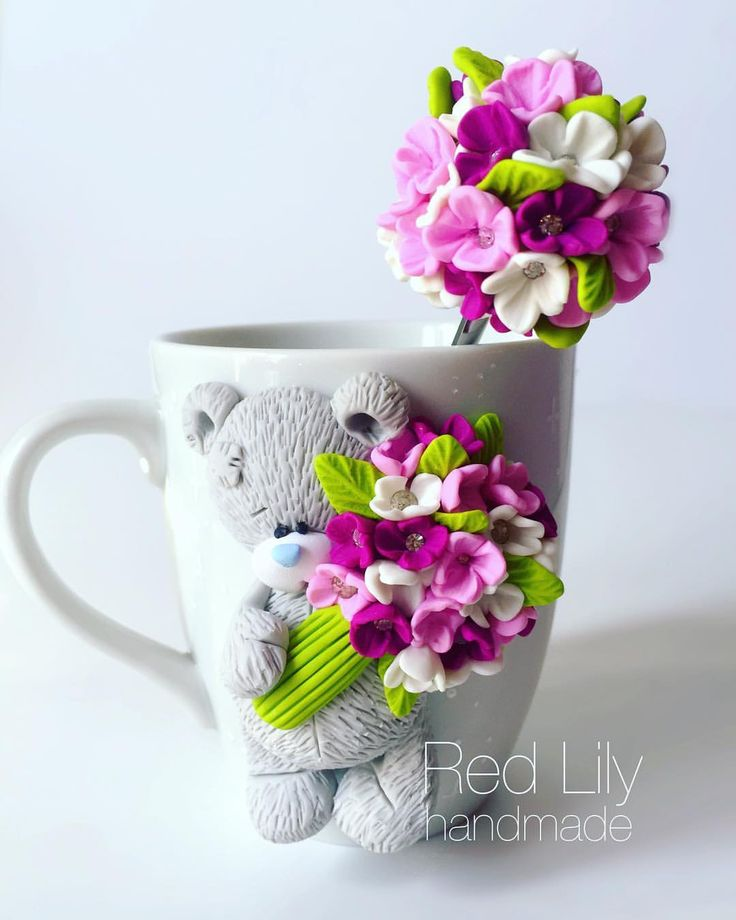 ✨ #goodnight #teddy #polimer #handmade #ручнаяработаназаказ #ручнаяработа #кружканазаказ #вкусныеложки #сувениры #подаркиручнойработы