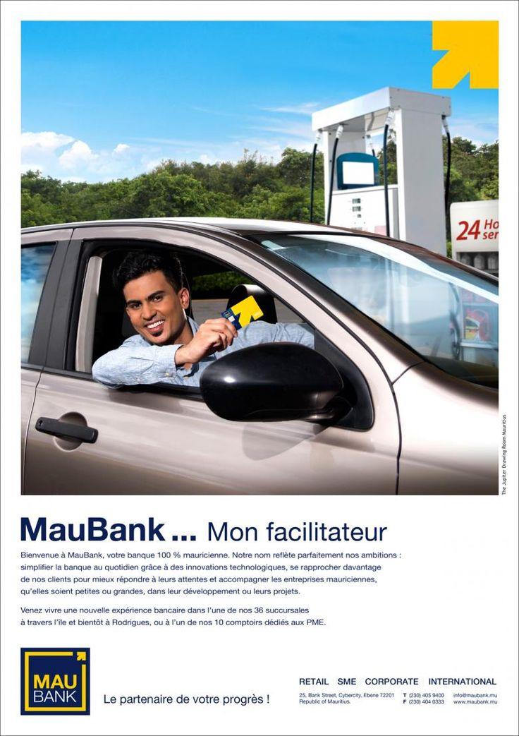 MauBank - Le partenaire de votre progrès ! Tél: 405 9400