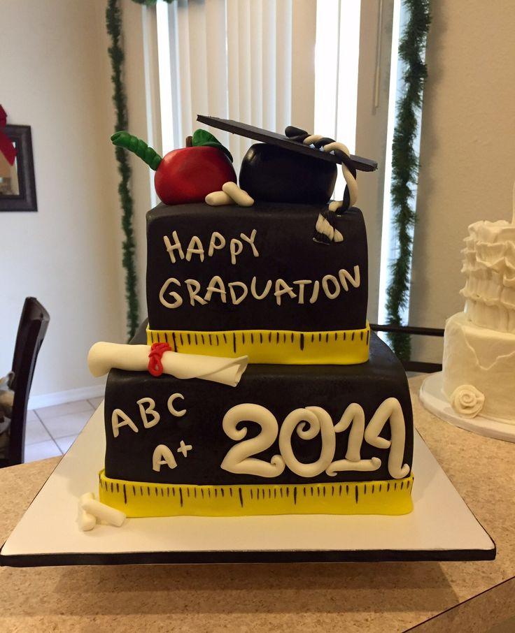 Teacher graduate cake…