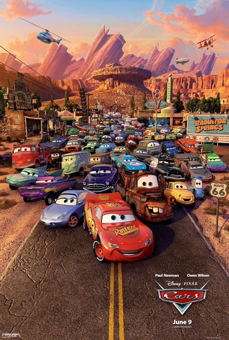 Say what you will about the paltry Cars 2, but the original Cars is near flawless. Beautifully animated with a simple yet rich story. It gets better every time I watch it.