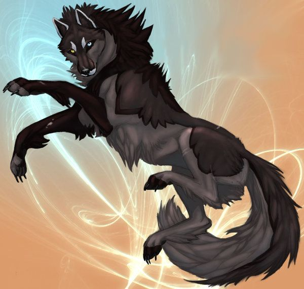 "((Open RP)) ""Hello, I'm Night and I am a father of two pups. I am half good and half evil. But I would never hurt my pups."