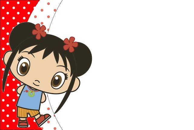 Ni Hao Kai Lan – Kit Completo com molduras para convites, rótulos para guloseimas, lembrancinhas e imagens!