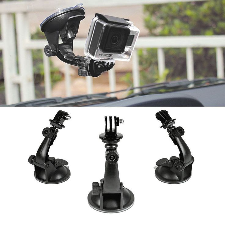 Car Window Windshield Glass Suction Cup Mount for GoPro 4 3 2 1 Action Camera US #UnbrandedGeneric #GlassSuction #Ebay #buyitnow