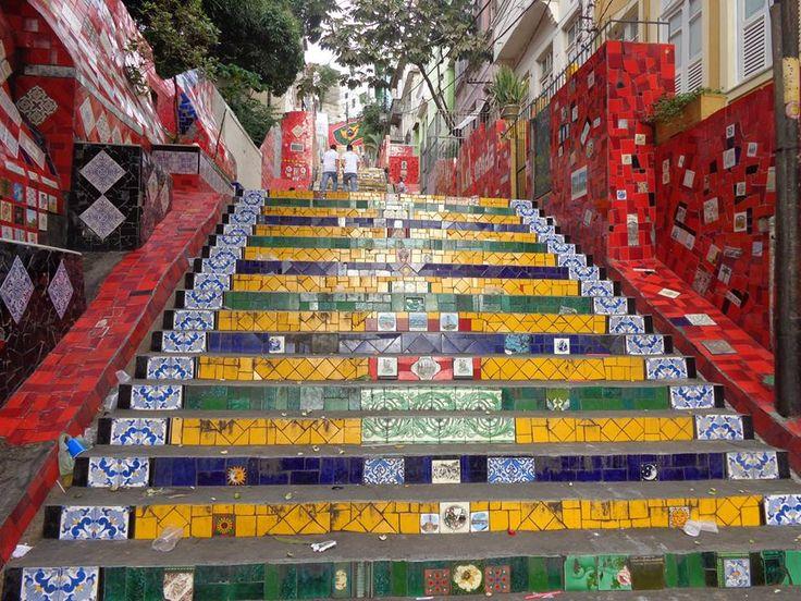 Escada da Selarón