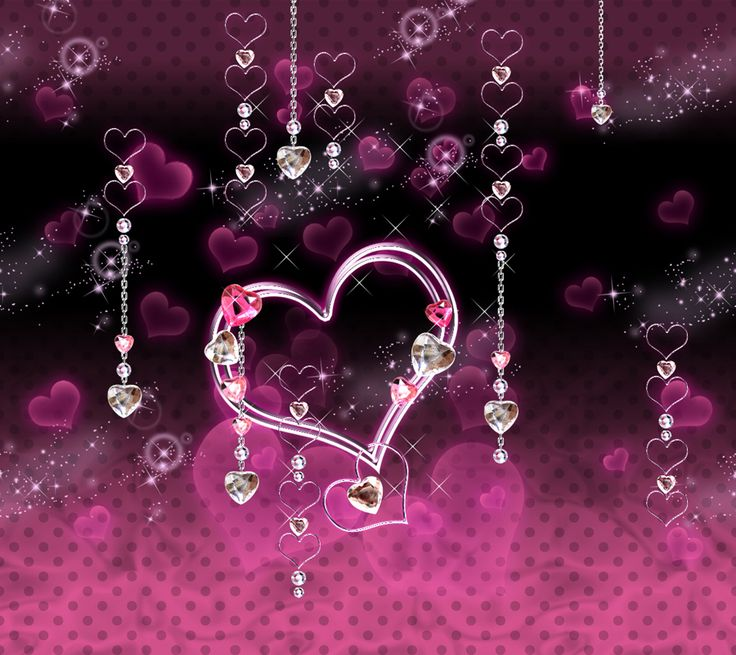 Pink Diamond Wallpaper: 110 Best .Hearts. Images On Pinterest