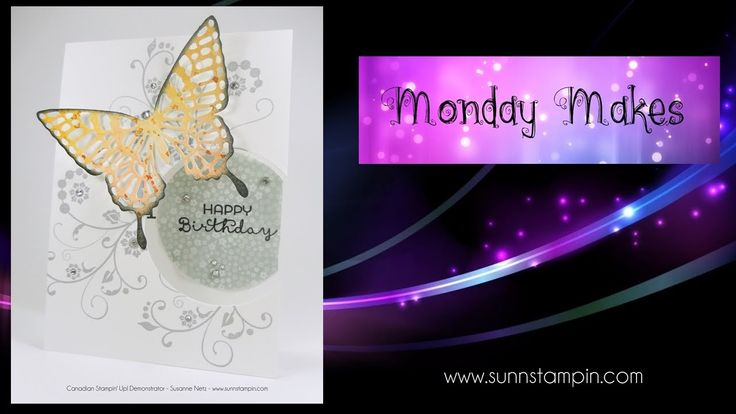 Big Butterfly Card featuring Stampin' Up! Products