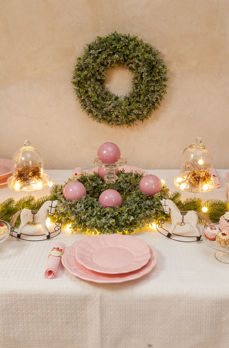 Luxury Pink Dinner Table Decorations - Chic Ville - Limited Time