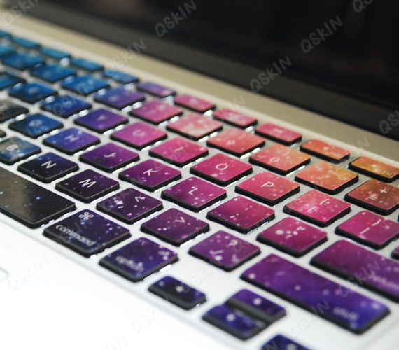 Decal for MacBook  Blue Star  keyboard  decal MacBook air sticker MacBook pro decal on Etsy, $11.99