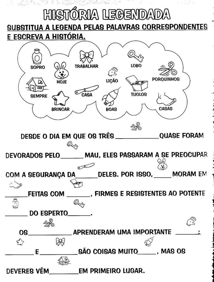 Educar é arte !!: ATIVIDADES PARA PRODUÇÃO DE TEXTO