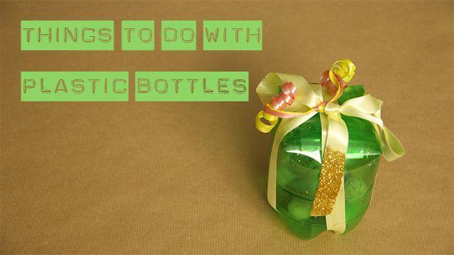 4 ideeën om plastic flessen te herbruiken