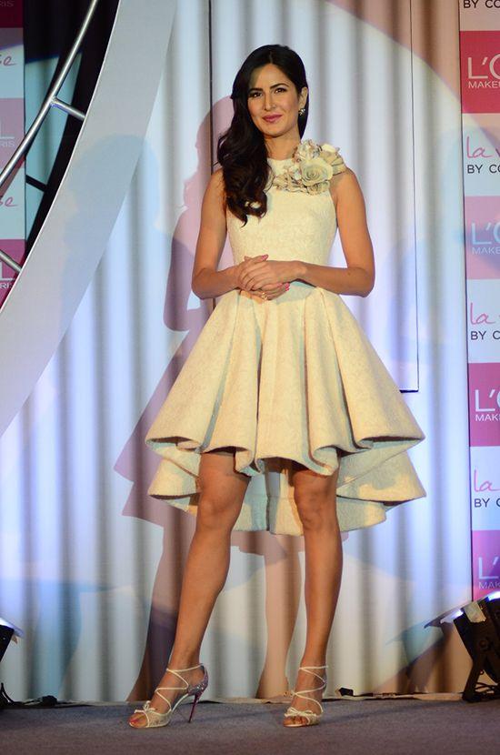 Katrina Kaif's Asymmetrical White Dress Is So Dreamy! | Hauterfly