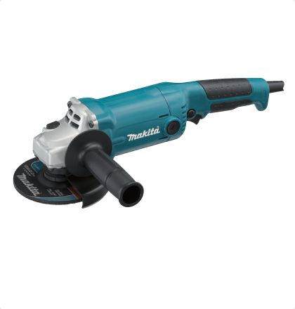 Makita GA5010 Angle Grinder     Easy -to grip motor housing.     High dust-proof construction.     Rubberized soft grip for more comfort and control.     Slim body and high durability.     Switch with easy-to-operate single-finger trigger. For More Details: http://www.mrthomas.in/makita-ga5010-angle-grinder_57