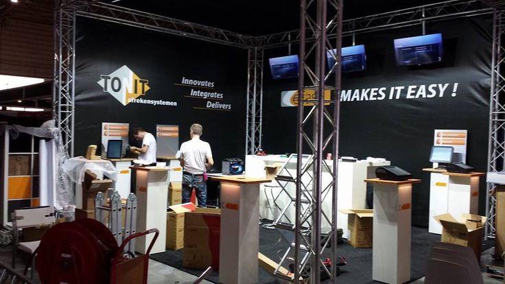 Opbouw beurs Maastricht 2014