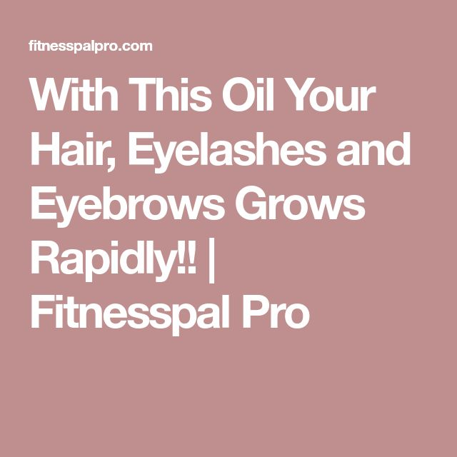 how to grow out your eyebrows and eyelashes