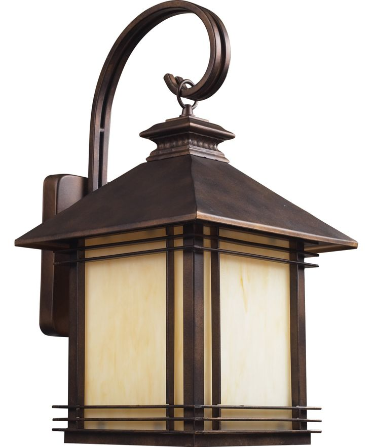 craftsman style lighting fixtures for home | Hazelnut Bronze Blackwell Craftsman / Mission Outdoor Sconce ...