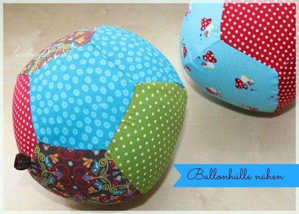 DIY Ballonhüllen nähen – praktische Idee für einen platzsparenden Spielball ….
