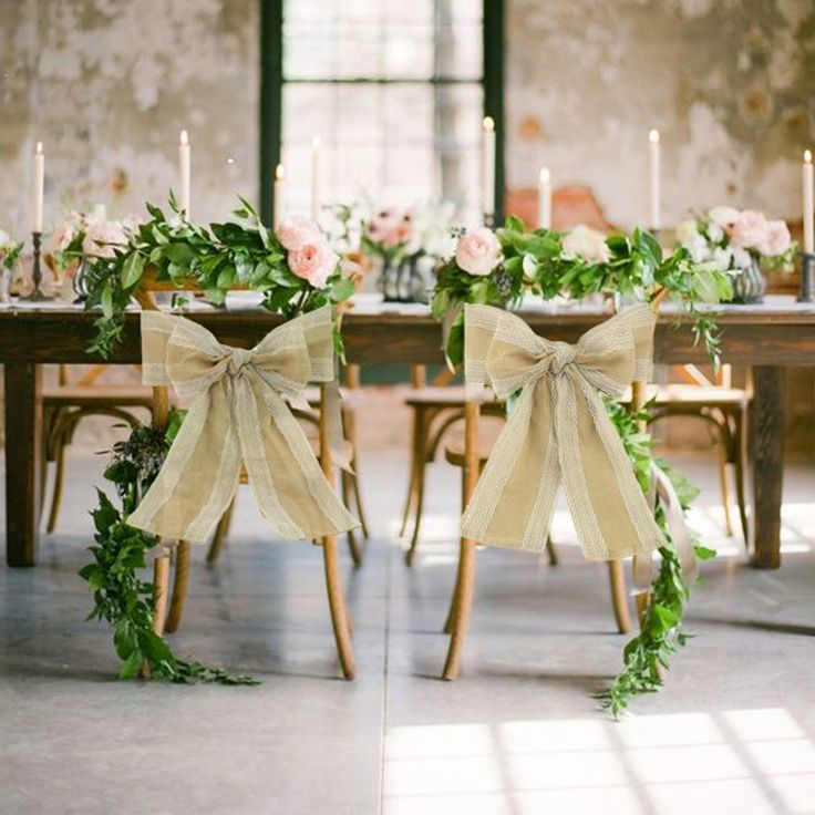 how to make chair sashes for weddings