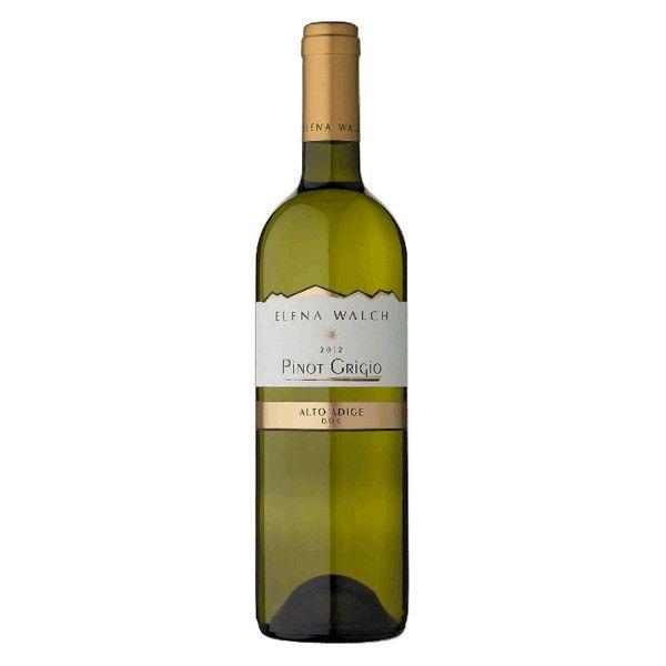 Pinot Grigio 2012 el Pinot Grigio colpiscono le brillanti sfumature giallo paglierino ed i sentori di pera matura, pepe bianco ed un tocco di salvia. Corposo nella sua mineralitá, vanta una sapidità bilanciata ed un'inaspettata persistenza al palato.