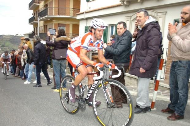 Daniel Moreno, pictured here in the 2013 Tirreno-Adriatico, took the biggest victory of his career today in La Fleche Wallonne