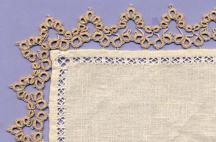 """""""unanavetta"""" ........... beautiful tatting lace. (Pattern instructions at site but not in English)."""