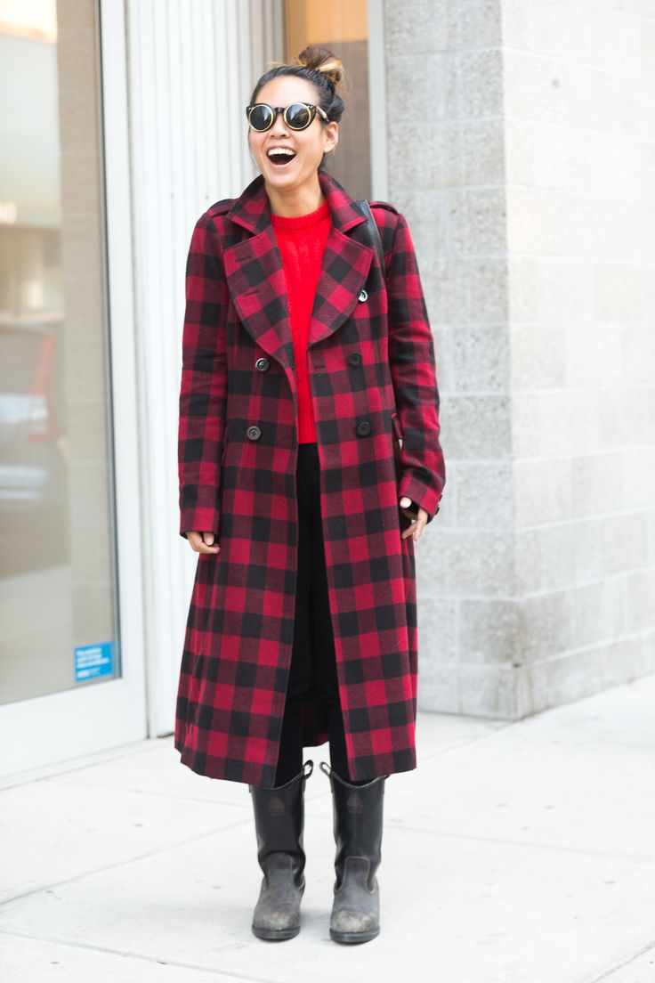 12 best Check coats images on Pinterest | Plaid coat, Check coat ...