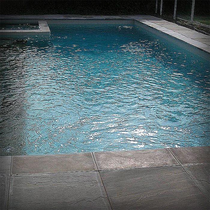 Grey Marmo Bluestone Paver to surround pool