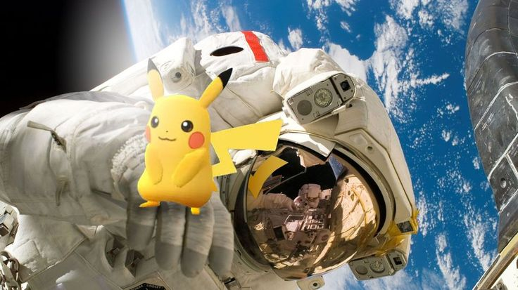 Sorry astronauts: You can't play 'Pokémon Go' in spacePikachu in space.  Image: Mashable composite; Wikimedia Niantic  By Miriam Kramer2016-07-11 22:02:02 UTC  While the whole world seems to be totally obsessed with Pokémon Go at least six people arent going to have the chance to try out the augmented reality gaming sensation anytime soon.  According to NASA the six crew members living and working on the International Space Station wont be able to play the app-based smartphone game  which…