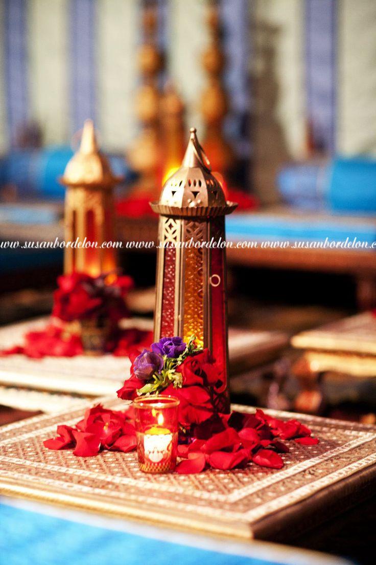 Arabian nights themed wedding