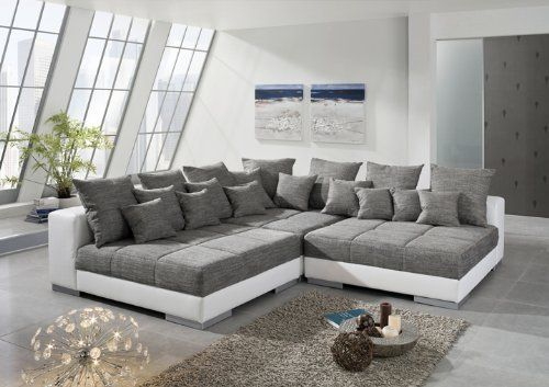 Ecksofa titanic sofaecke eckgarnitur sofa garnitur for Sofa garnitur