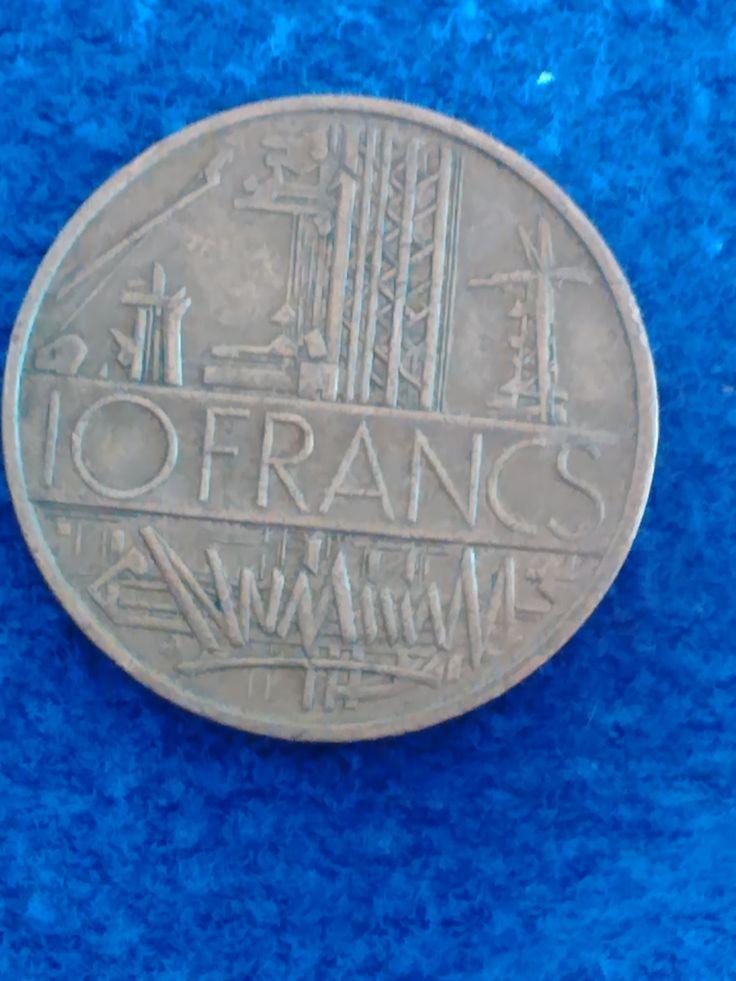 1978 FRANCE Coin - 10 Francs - edge lettering Liberte EGALITE FRATERNITE by VintageVarietyFinds on Etsy