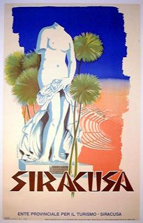 Vintage Italian Travel Poster, Poster Classics of France, Italian Travel Posters
