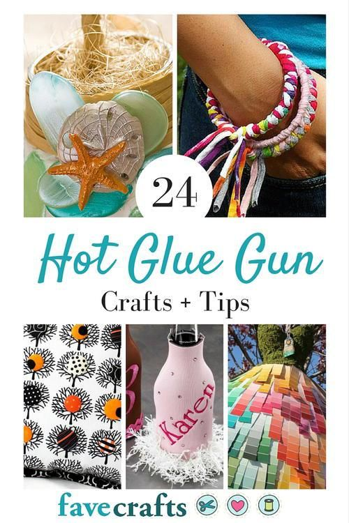 Hot glue is and has been a crafter's go-to adhesive for years and years.  While you do have to be a bit careful when using it, hot glue seems to be one of the best no-fail things to use.  The…