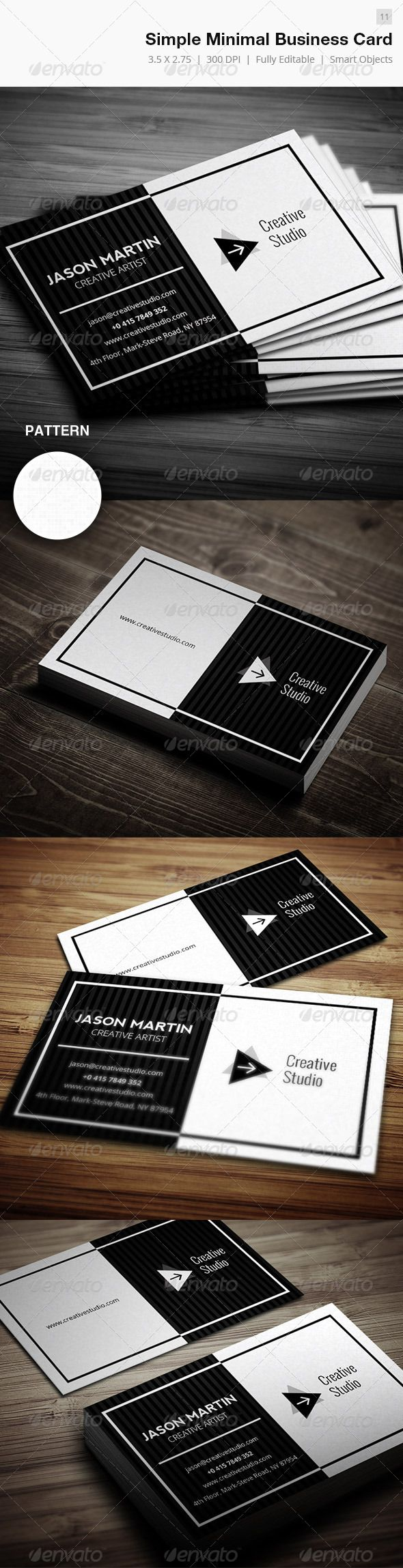 648 best cool business cards images on pinterest fonts arrows simple minimal business card 11 magicingreecefo Choice Image