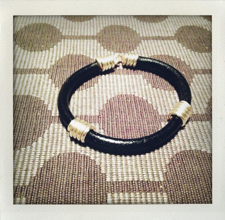 Mens leather bracelet 2