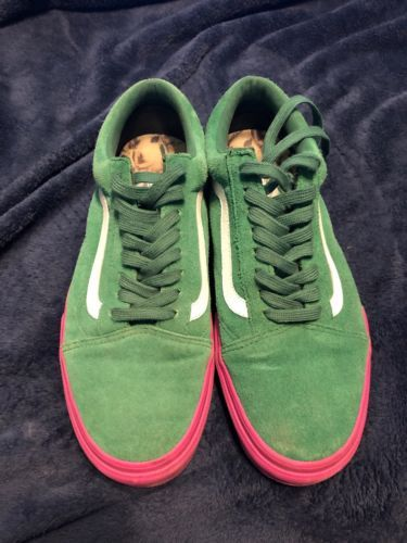 35f3301708f74c Details about VANS X WTAPS OG OLD SKOOL LX Wtaps GREEN MEN S SIZE 13 ...