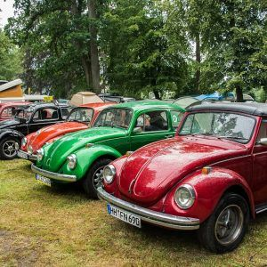 VW Beetle Jamboree near the Baltic coast Every July the Pomeranian VW Beetle Jamboree takes place in Choczewo near Gdańsk. Beetle rally, carnival feeling, entertainment, competitions and a lot of fun.