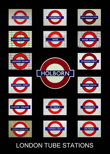 London tube stations