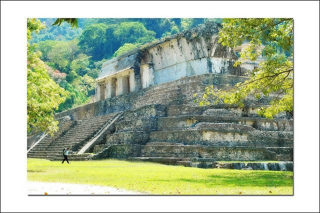 Mayan Ruins in Chiapas, Mexico When we made the trip to Palenque, our self-imposed vacation from the beach, the weather was on our side