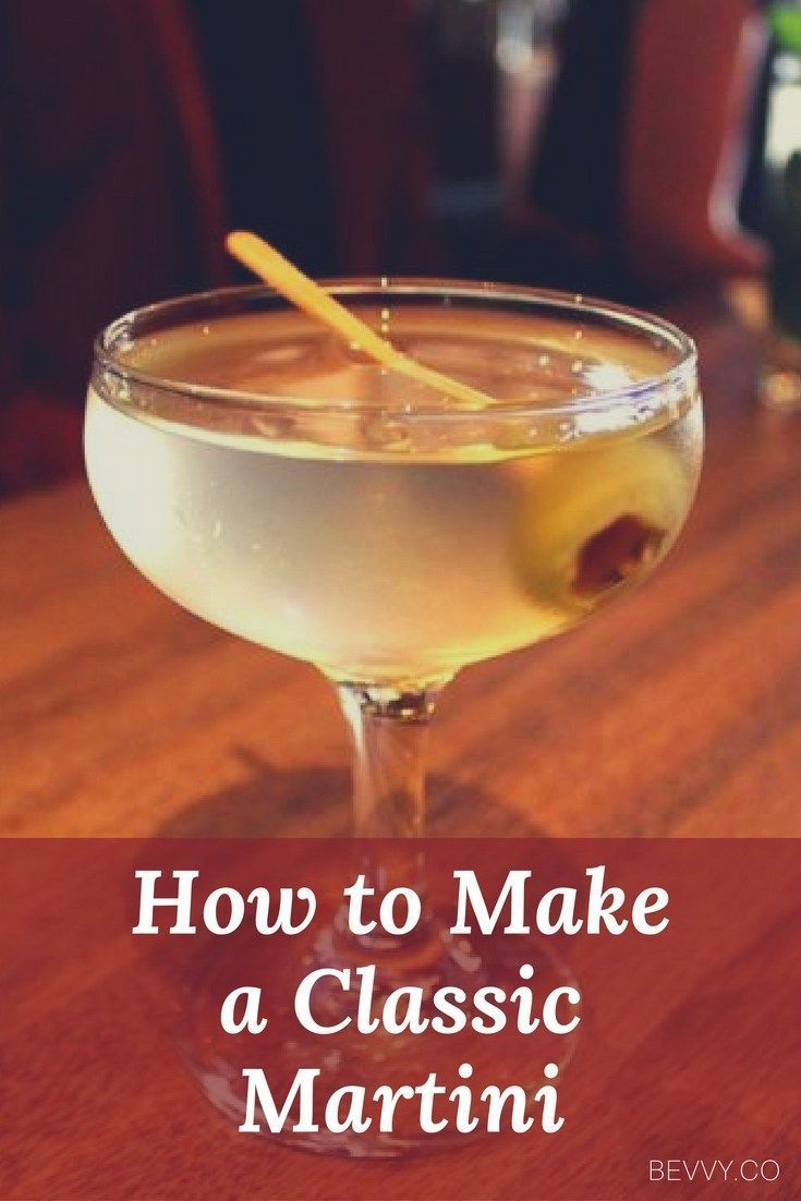Learn how to properly make a classic Martini, a cocktail that's been synonymous with good drinking since the 1800s. #wineglasswriter