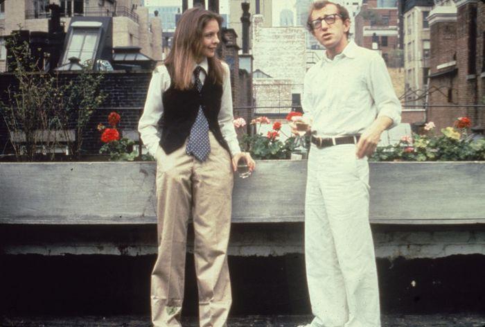 Diane Keaton était habillée par Ralph Laurendans le célèbre film Annie Hall de Woody Allen. Elle acceptera ce soir le prix Cecil B. DeMille au nom de son ami de longue date et partenaire à l'écran pour sa carrière exceptionnelle.