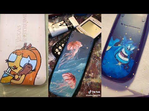 painting on calculators compilation /tiktok/ – YouTube