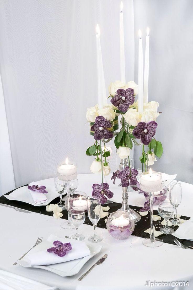 En violet #delyfleurs #centredetable #fleurs