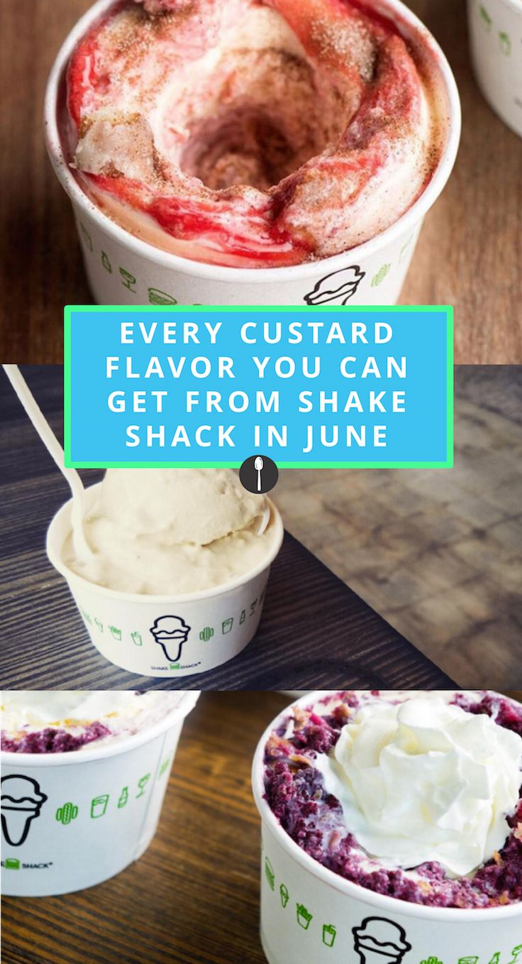 Every Specialty Custard Flavor You Can Get From Shake