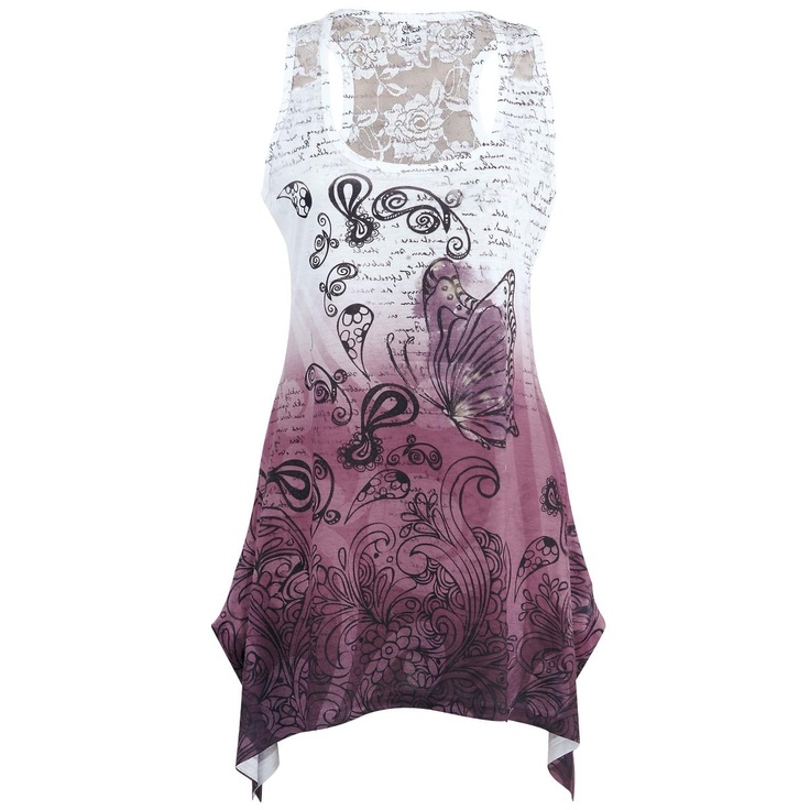 For Kelly: Lace Panel Vest von Innocent