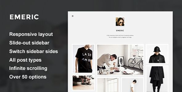 Emeric - Modern Grid Theme