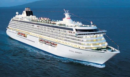 Crystal Cruises - Crystal Serenity - Here's our boat!