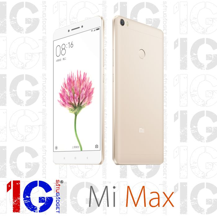 "Xiaomi Mi Max - the Bigger the Better repriced at RM899! Original Set (Sealed Box), 1 Year Warranty By Xiaomi Malaysia   Keys Specs: - 16MP Rear Camera with 5MP Selfie Camera - 6.44"" inches screen & Snapdragon 650 Chipset - 3GB RAM with 32GB Internal Memory - Non-removable Li-Po 4850 mAh battery  Retail Daily Operation Hours: 11:00AM-10:30PM (Sales) / 11:00AM-9:00PM (Service)  Payment Method Cash/Bank Transfer/Credit Card/Credit Card Installment 0% Interest, *12 Months Installment - Maybank…"
