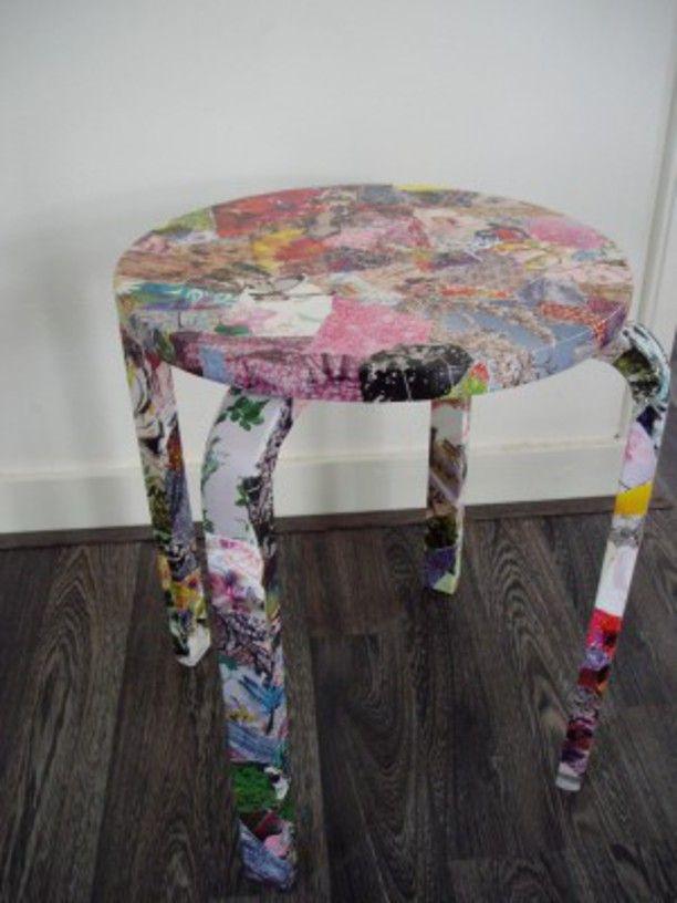 LianaXXX - DIY Een stoel pimpen - Girlscene