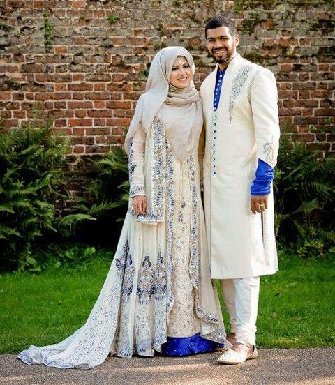 model baju muslim bahan sari india
