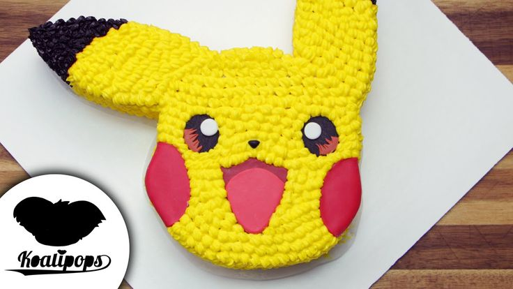 Pikachu Cake | Pokemon | How To